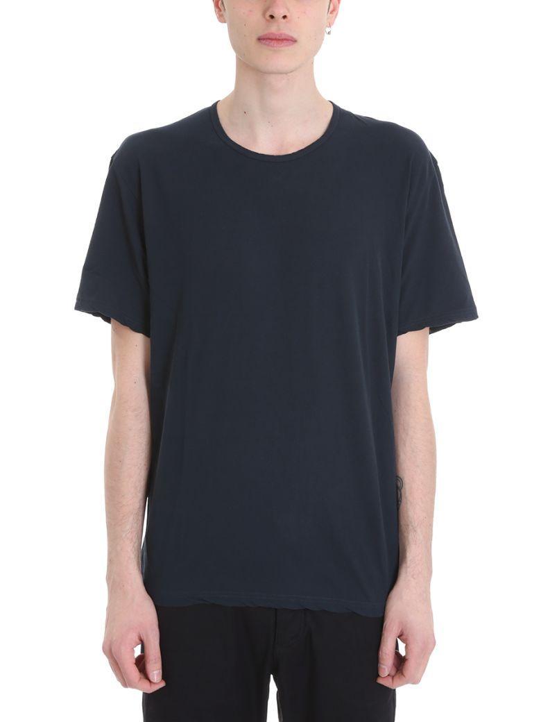 Attachment T-shirt In Blue Cotton
