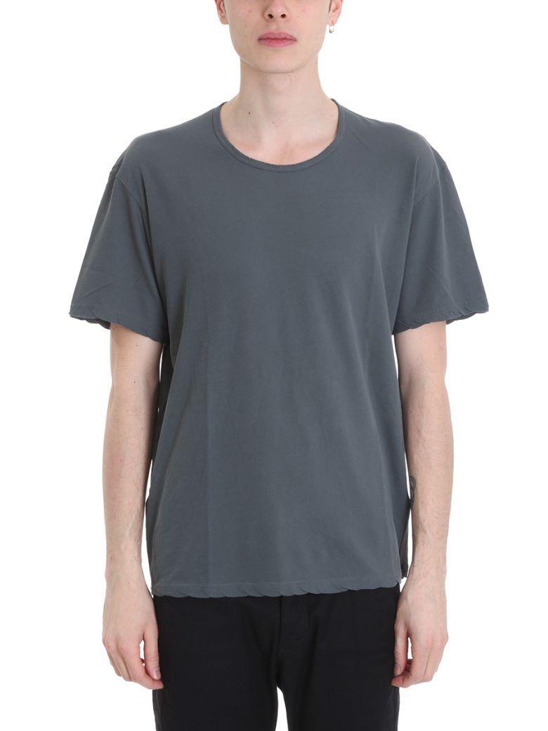 Attachment Grey Viscose T-shirt