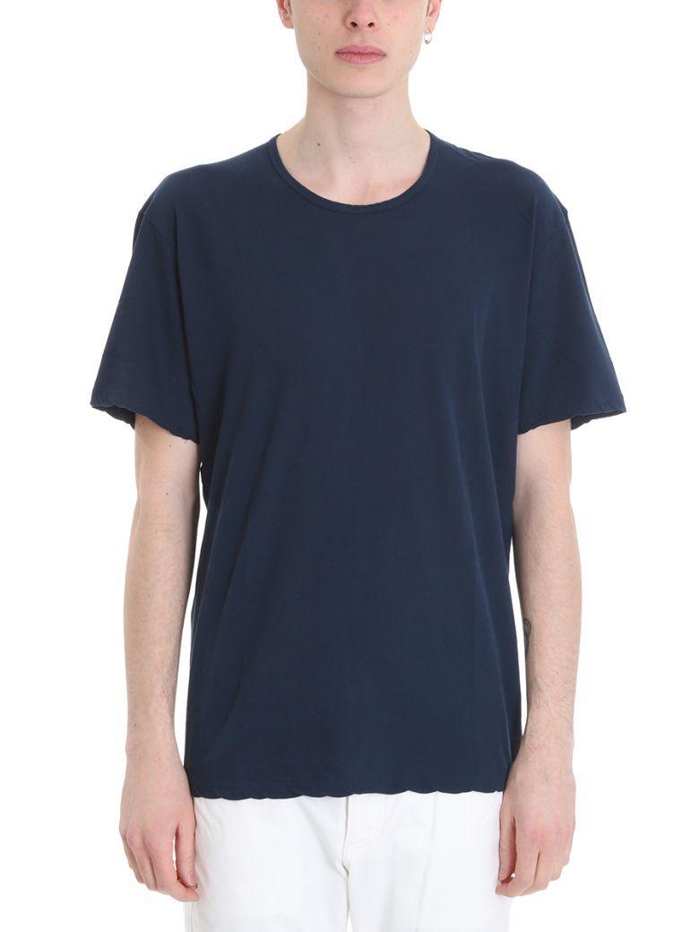Attachment Blue Viscose T-Shirt In Petroleum