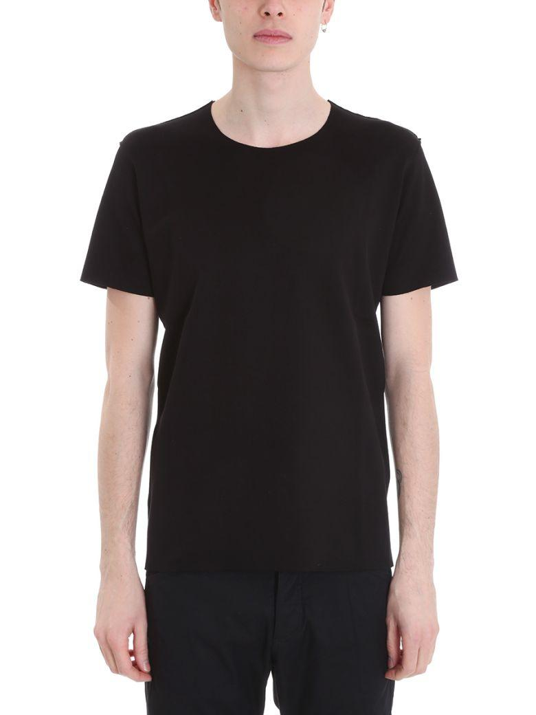Attachment Classic Short-sleeve T-shirt In Black