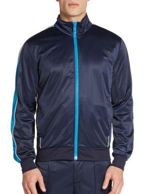 Marc By Marc Jacobs Tracksuit Jacket In Ink Blue