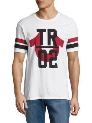 True Religion Cotton Short-sleeve Tee In White