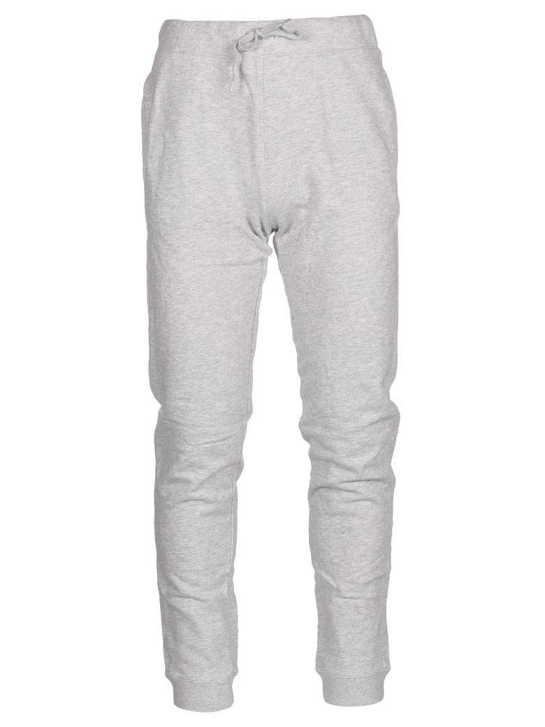 A.p.c. Fleece Pants In Gris Chine