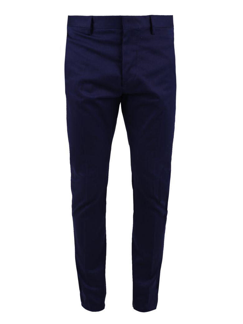Dsquared2 Blue Stretch Trousers