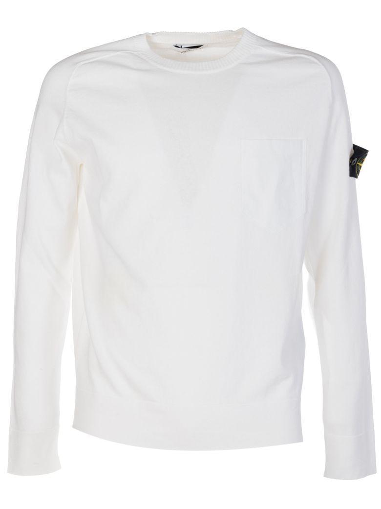 Stone Island Classic Sweatshirt In White