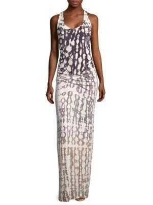 Young Fabulous & Broke Hampton Sleeveless Maxi Dress In Grey
