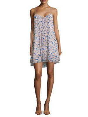 Sanctuary Fling Bluebelle Floral-print Dress