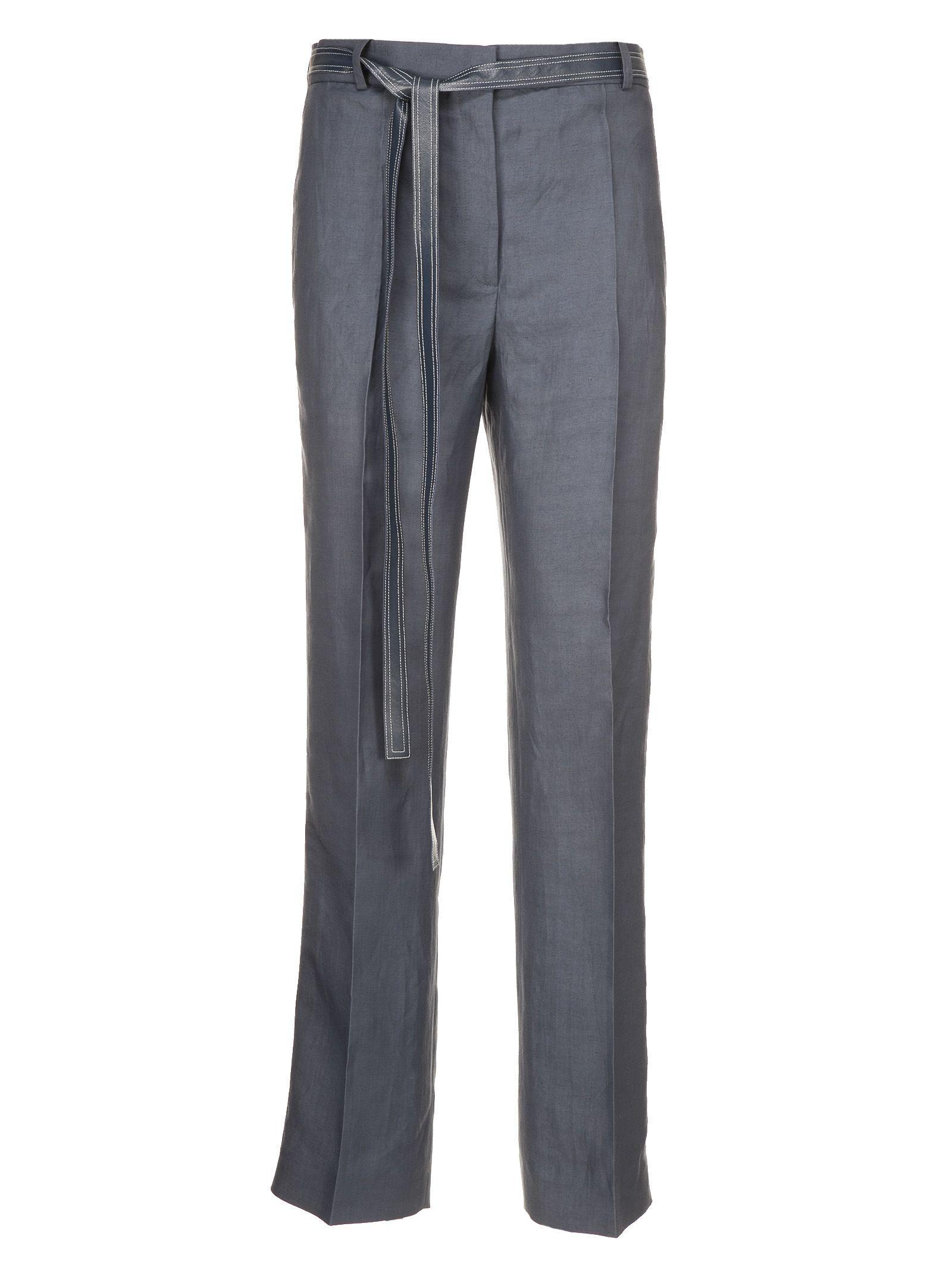 Celine CÉline Belted Trousers In 05eu