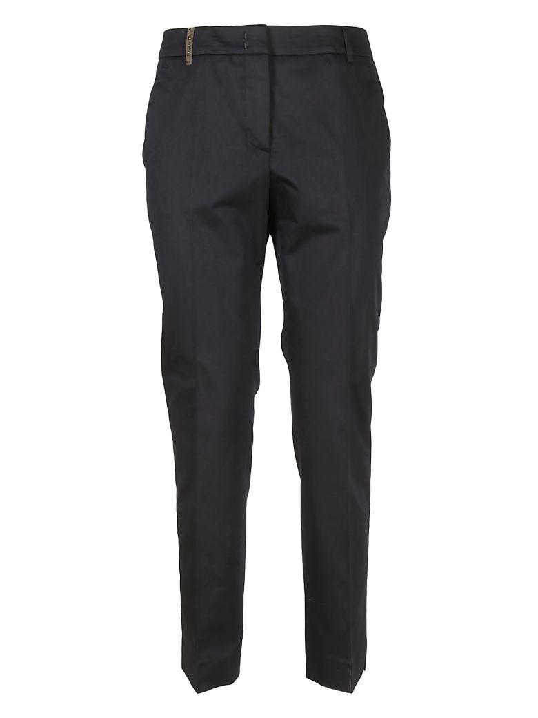 Peserico Regular Trousers In Blue