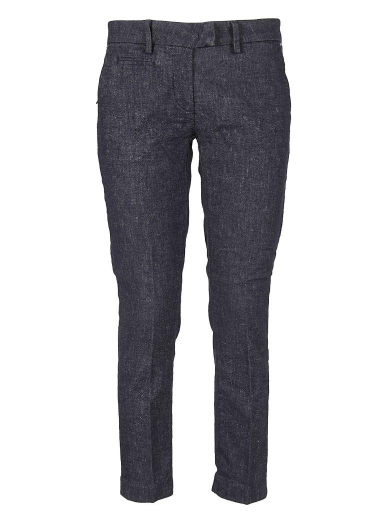 Masons Stretch Trousers In Blue