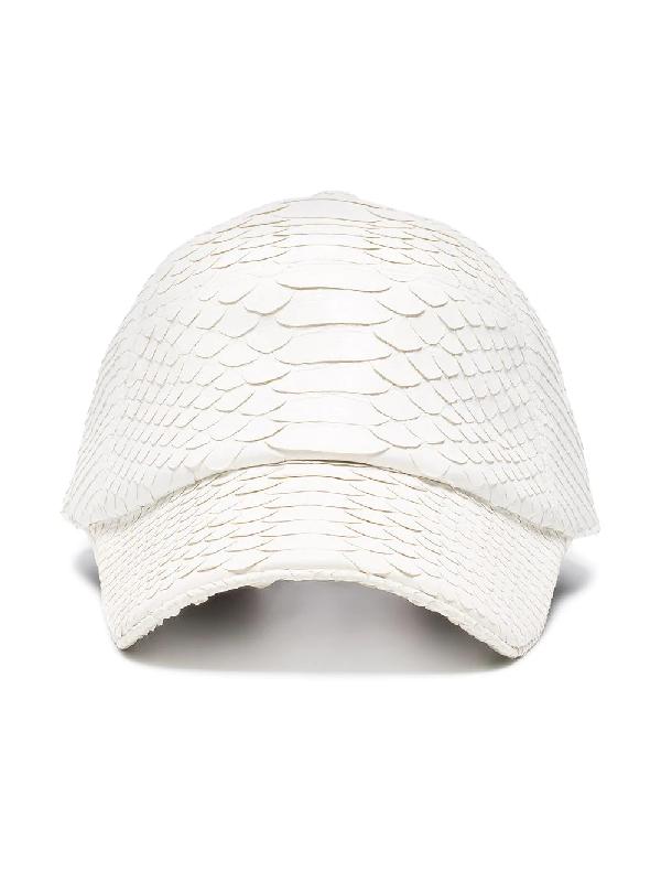 Stalvey White The Big Deep Python Baseball Cap