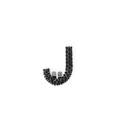 Stuart Weitzman The Bag Clip In Black Crystal