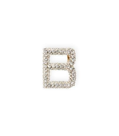 Stuart Weitzman The Bag Clip In Clear Crystal