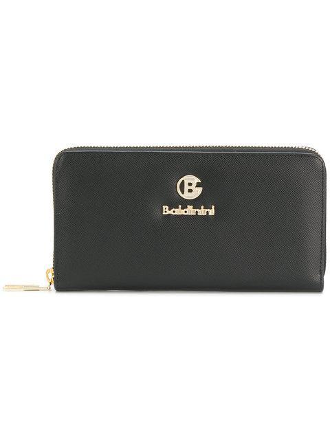 Baldinini Logo Zip In Black