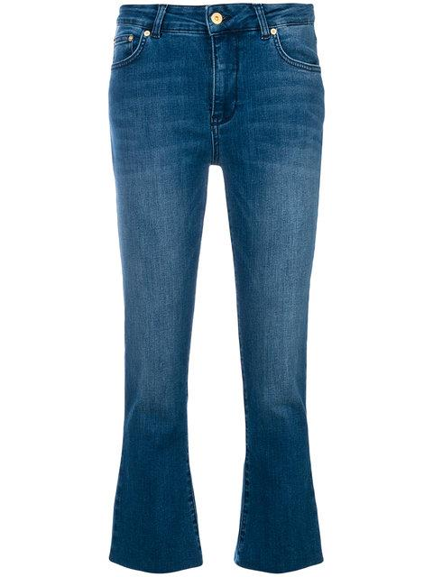 Department 5 Cropped Jeans In Blue