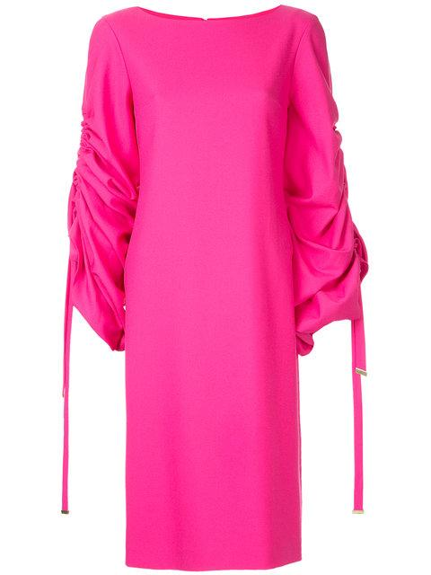 Osman Ruched Sleeve Dress