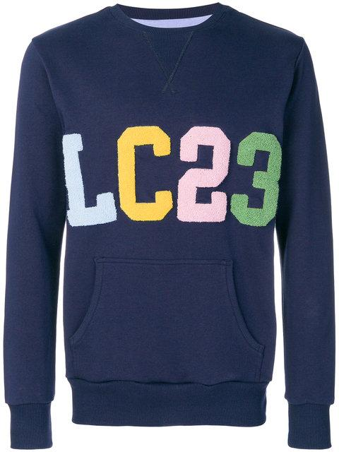 Lc23 Logo Patch Sweater - Blue
