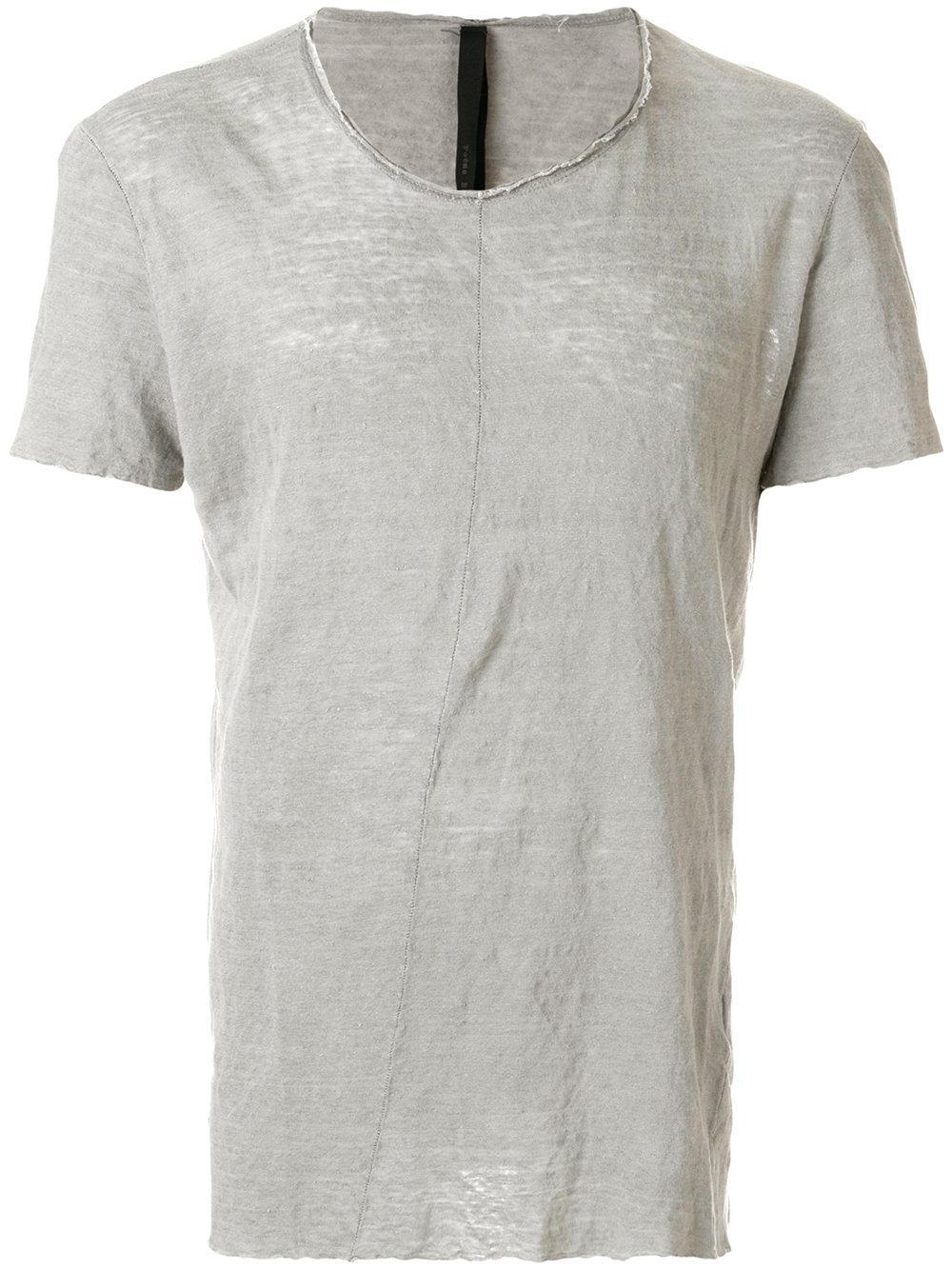 PoÈme BohÈmien Distressed Slim Fit T-shirt