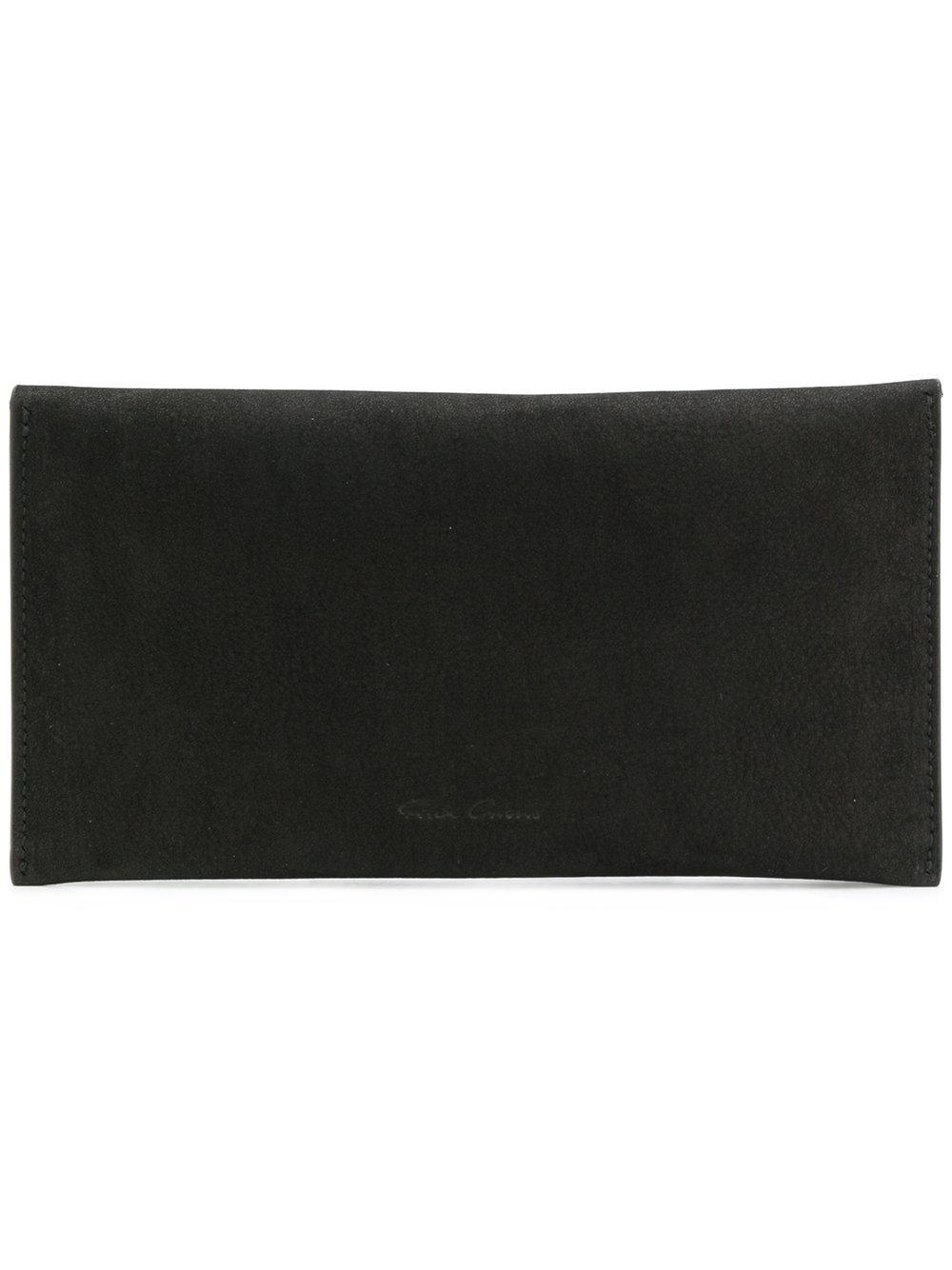 Rick Owens Flap Wallet