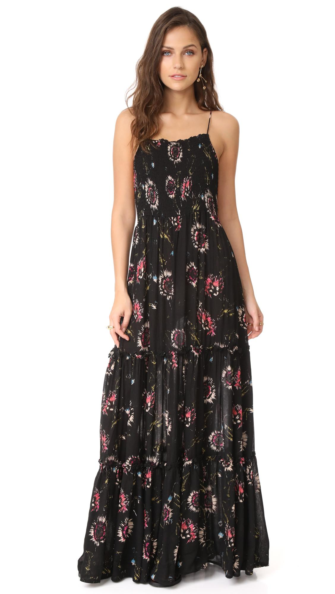 dd3ed5795b9 Garden Party Maxi Dress in Black Combo
