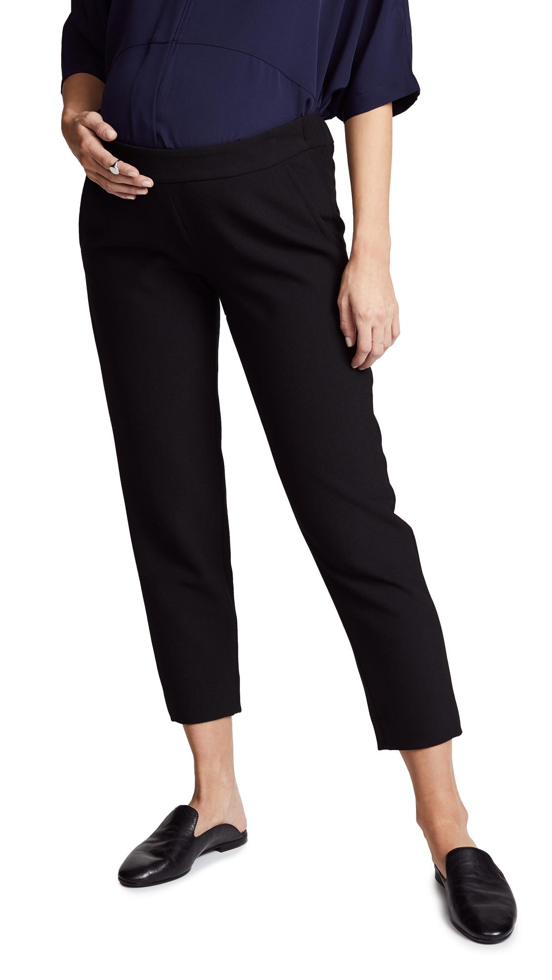 Hatch Beckett Trousers In Black