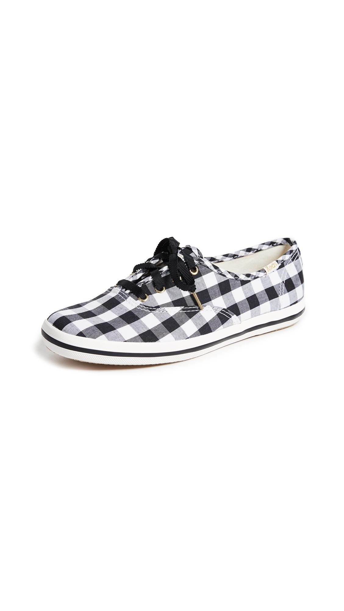 3b6b49c6d03 Keds X Kate Spade New York Gingham Sneakers In Black