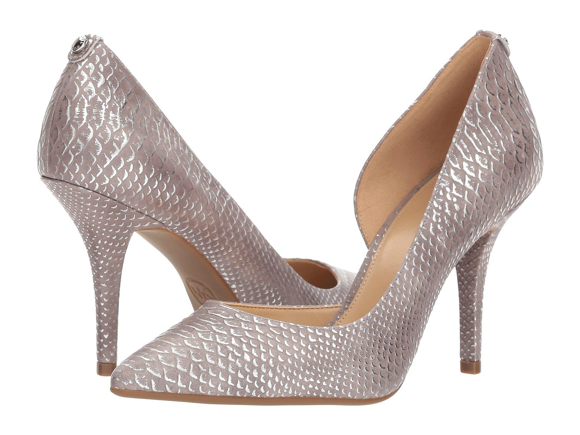 Nathalie Flex High Pump in Silver
