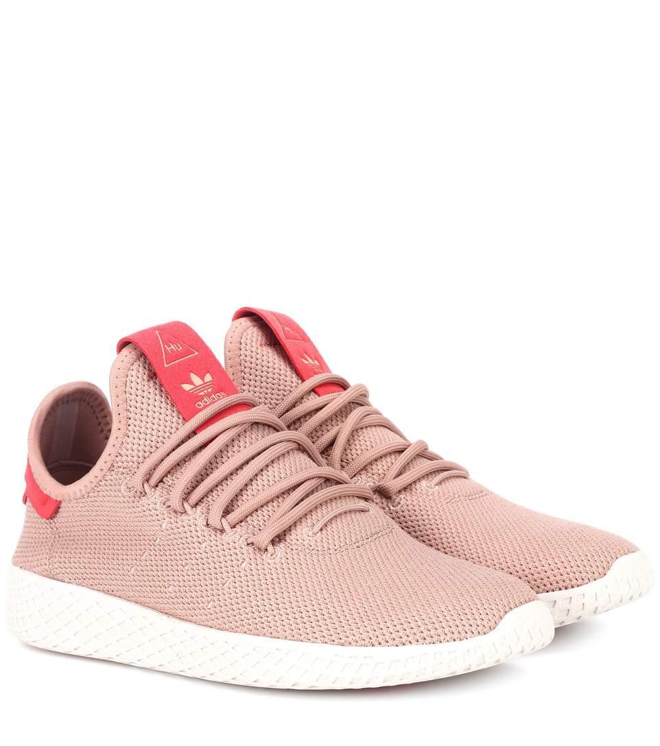 4c68223a3f6b7 Adidas Originals X Pharrell Williams Pharrell Williams Tennis Hu Sneakers  In Pink