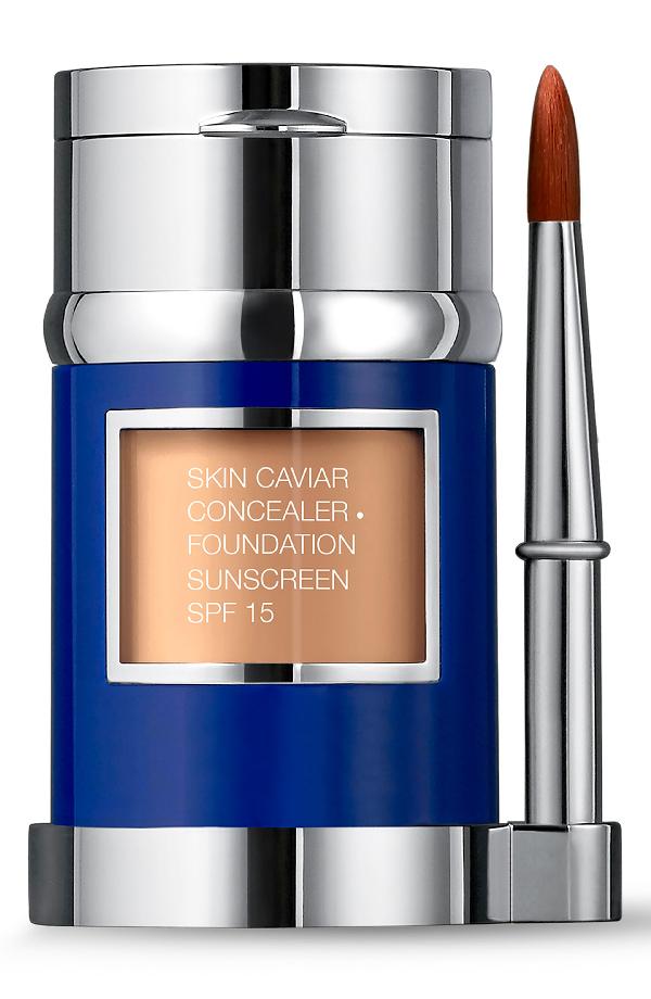La Prairie Skin Caviar Concealer + Foundation Sunscreen Spf 15 In Warm Linen