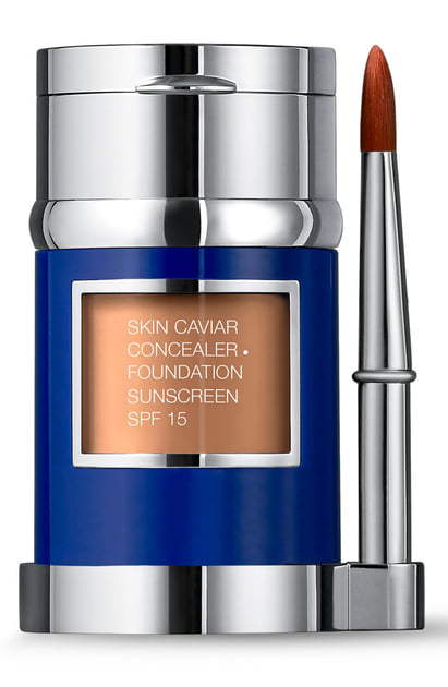 La Prairie Skin Caviar Concealer + Foundation Sunscreen Spf 15 In Mocha