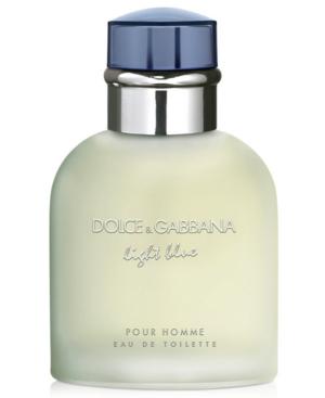 Dolce & Gabbana Light Blue Pour Homme Eau De Toilette 4.2 oz/ 125 ml Eau De Toilette Spray