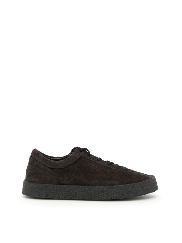 065d8dc826da6 Yeezy Suede Season 6 Sneakers In Graphitegrigio
