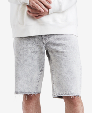 71c81e52 Levi's Men's 511 Slim-Fit Cutoff Ripped Jean Shorts In Silver Slipper