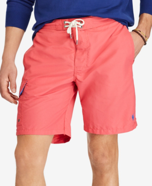fa6991b1f5 Polo Ralph Lauren Men's Big & Tall Kailua Swim Trunks In Hyannis Red ...