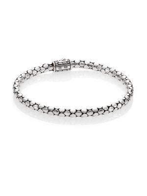John Hardy Dot Sterling Silver Slim Bracelet
