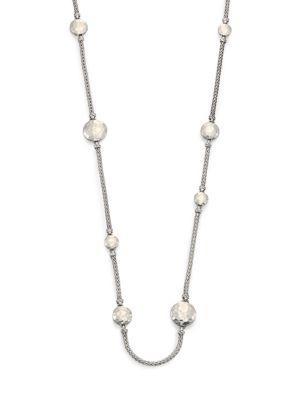 John Hardy Palu Sterling Silver Disc Sautoir Necklace