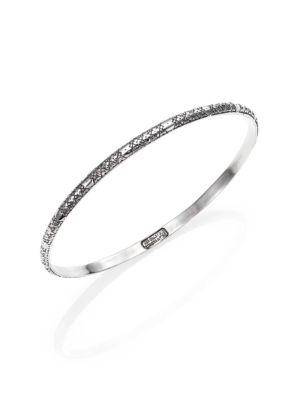 Konstantino Classics Sterling Silver Etched Bangle Bracelet