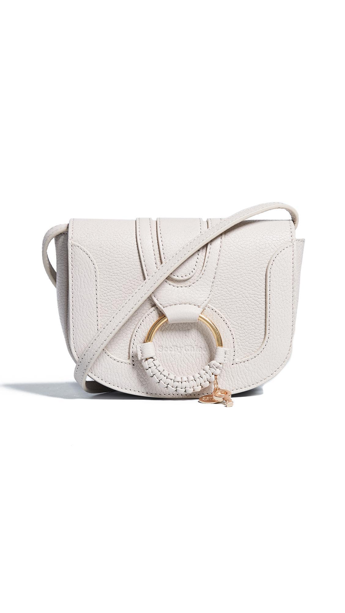 8e472c0ba1f1a See By ChloÉ Hana Mini Saddle Bag In Cement Beige | ModeSens