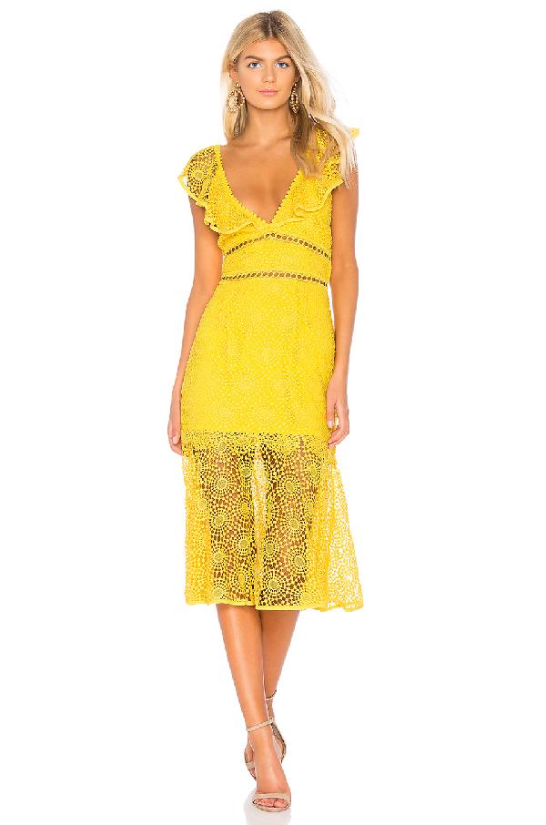 731e5e640645d8 Saylor V-Neck Circle Embroidery Cotton Midi Dress In Coral | ModeSens