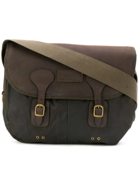 Barbour Satchel Shoulder Bag In Green
