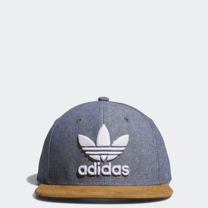 ADIDAS ORIGINALS. Men S Originals Trefoil Plus Snapback Hat ... b9e93e43c582