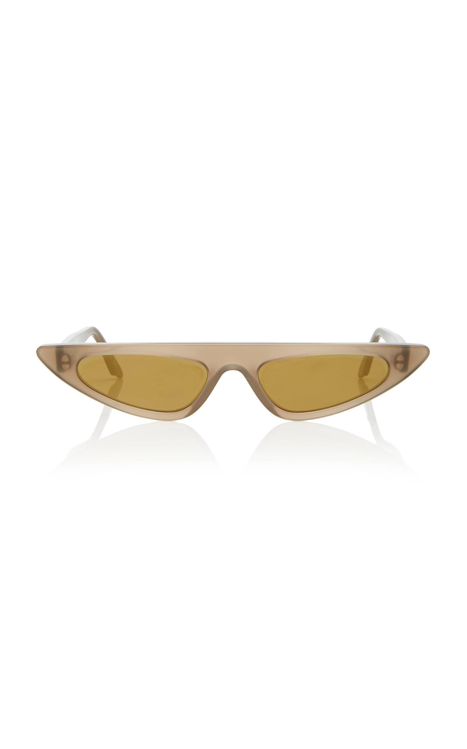 56e12c46af Andy Wolf sources all of their acetate from Italy to ensure both durability  and sustainability. This futuristic pair features an of-the-moment  exaggerated ...