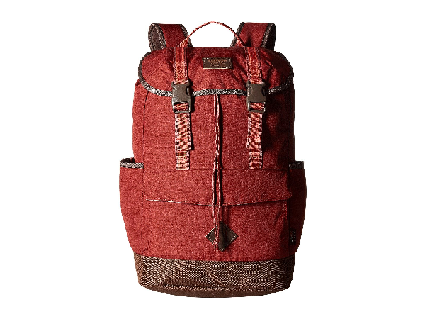 73ff17d638484 Burton Outing Pack In Fired Brick Ripstop Cordura