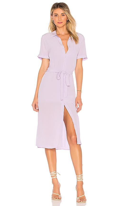 2175d3d5cdd L Academie The Shirt Dress In Lilac