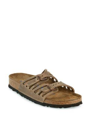 31cd9e202c4d3 Birkenstock Granada Soft Footbed Oiled Leather Sandal In Tobacco ...