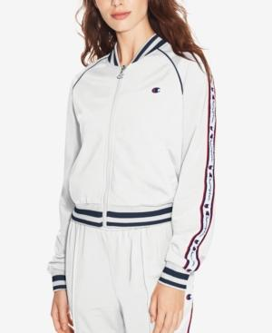 Champion Track Jacket In White
