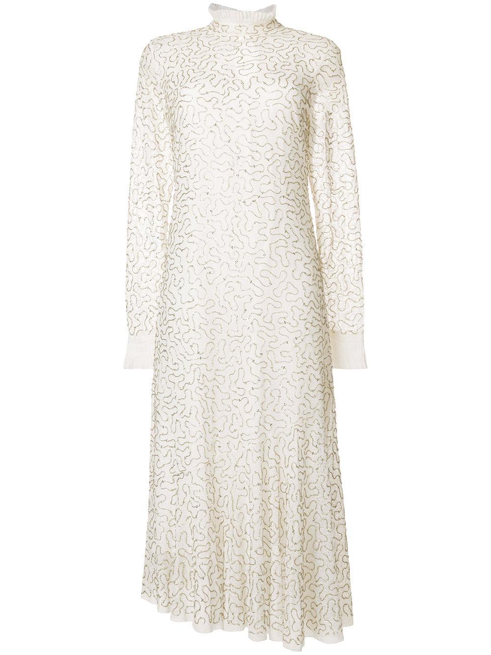 Aje Speckle Knit Dress