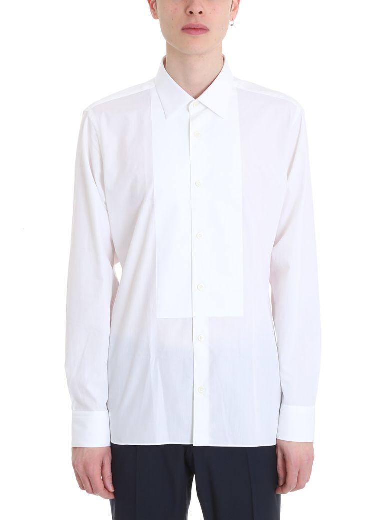 Z Zegna White Cotton Shirt