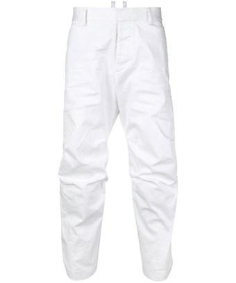 Dsquared2 Men's  White Cotton Pants