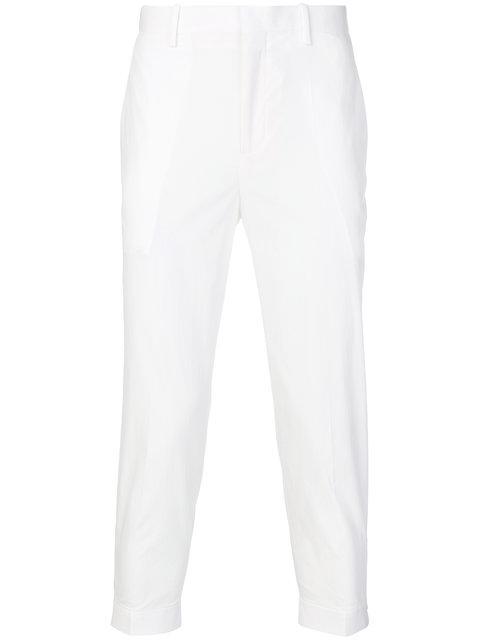 Neil Barrett 九分长裤 In White